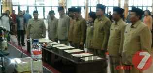 Bupati Karo Lantik 9 Pejabat Tinggi Pratama, Ini Nama - namanya