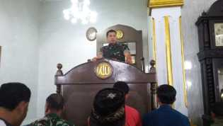 Penghujung 2018, Kodim 0205/TK Gelar Do'a Bersama Jamaah Masjid Agung Kabanjahe