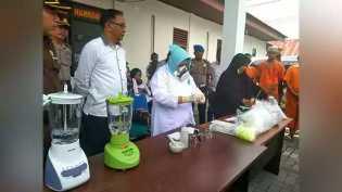 Polda Riau Musnahkan BB Sabu 11.249 Kg dan 4.809 Butir Pil Ekstasi dari 7 Tersangka