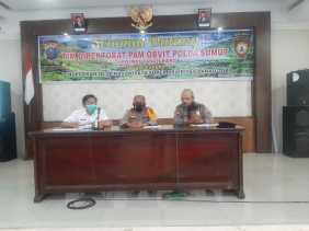 Supervisi Poldasu Cek Kesiapan Destinasi Parawisata Super Prioritas Danau Toba Di Polres Tanah Karo