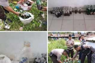 Polres Tapanuli Utara: Diduga Bom Molotov, Ditemukan Tidak Jauh dari KPU