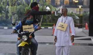 Polisi Gambar Sketsa Wajah Penyerang Novel Cocokkan  dari Saksi