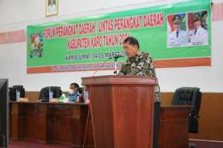 Pemkab Gelar Forum Perangkat Daerah/Lintas Perangkat Daerah Kabupaten Karo Tahun 2021