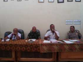 Rapat Koordinasi Pemerintahan di Kecamatan Kutabuluh, Ini yang Dibahas...