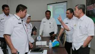 Gubernur Riau Minta Kadiskes Kroscek Data Ispa