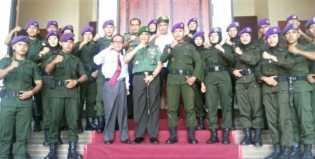 Kuliah Umum, Danrem 031 WB  Paparkan  Wawasan Kebangsaan  di UIN Susqa
