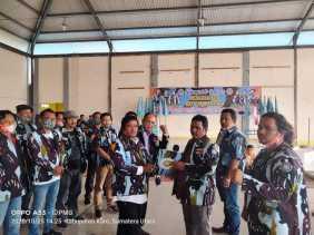 Kukuhkan PAC Simpang Empat, Ketua DPD IPK Karo: IPK Karya Kekaryaan Bukan Organisasi Premanisme...