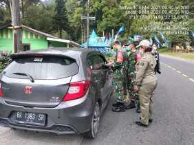 TNI – Polri Siap Amankan Mudik Lebaran Di Pos Pengamanan Ops Ketupat Toba 2021
