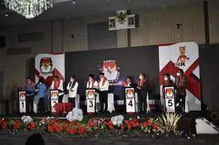 Begini Suasana Debat Publik Para Paslon Bupati dan Wakil Bupati yang Diselenggarakan KPU Karo