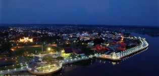 Kabupaten Siak Punya Potensi Wisata Waterfront City Sungai Jantan