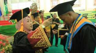 Universitas Lancang Kuning Wisuda 768 Lulusan