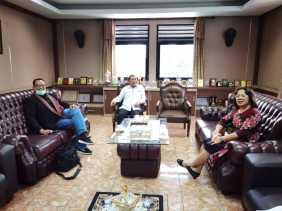 Anggota DPD - RI Badikenita Putri Sitepu Tawarkan Program Ini ke Pemkab Karo