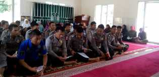 Polres Rohil Gelar Pengajian Wirid Yaasin