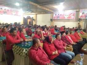 Konsolidasi dan Silahturahmi, DPC PDI  Kampar dan Rohul Solid MenangkanH.Suyatno