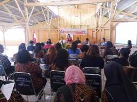 Camat Merdeka Dukung Kegiatan Lokakarya Mini Lintas Sektoral Puskesmas Merdeka