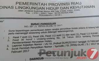 Kabid PPLHK Riau Sebut di Padang Sawah Tidak Ada Tanah Ulayat