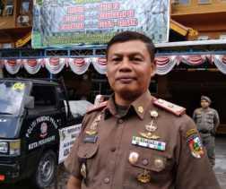 Titik Rawan, Satpol PP Pekanbaru Siagakan Personil Saat Pergantian Malam Tahun Baru