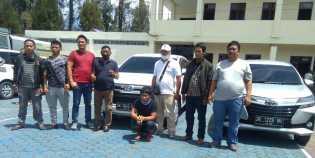 Polres Karo Ungkap Pengelapan Mobil Rental Antar Propinsi