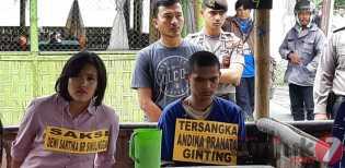 Polres Karo Gelar Rekontrusksi Kasus Pembunuhan Pemilik Rumah Makan BPK Vicada