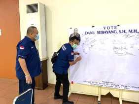 Ratusan Advokat Dukung Danu Sebayang Jadi Ketua Peradi Jakarta Timur