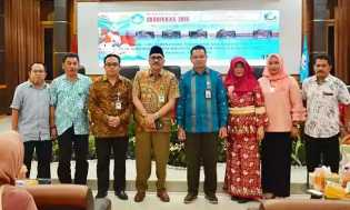 Peringatan Hardiknas 2018 di LPMP Riau, UPT Kemendikbud Riau Hadirkan OJK