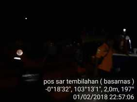KM Vega Jaya Hari Kamis Terbakar di Inhil, Hari Jumat 3 Orang ABK Ditemukan Selamat