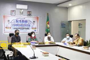 Bupati dan Wakil Bupati Karo Launcing Aplikasi Silaba dan Aplikasi Silatih