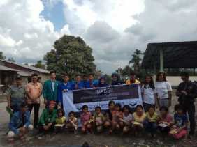 IMABSII Wilayah I Sumatra Beri Bantuan Korban Gunung Sinabung