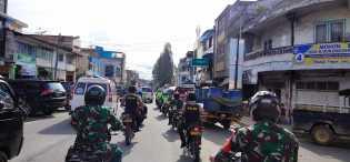 Jelang Pilkada Serentak Tahun 2020, Polres Karo - Kodim 0205/TK Gencar Patroli Kamtibmas