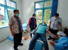 Sekdakab Karo: Masa Pandemi Covid - 19 Jangan Menghentikan Kita Untuk Melakukan Donor Darah