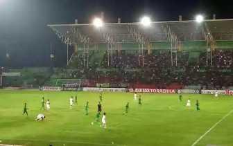 Uji Coba Laga I Indonesia 2018: PSPS Riau vs PSMS Medan, 0-3