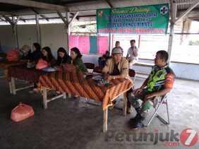 Serka J Lingga Hadiri Sosialisasi Stop BABS di Desa Pancur Batu