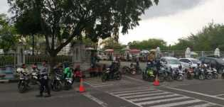 Dishub Pekanbaru Tertibkan PKL dan Ojek Online di Jalan SSK