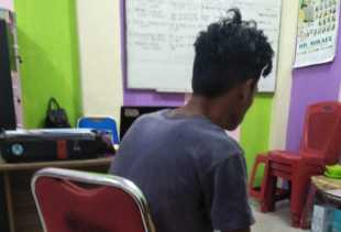Seorang Supir Angkot Diciduk Polisi di Pusat Pasar Kabanjahe Terkait Pencabulan Anak Dibawah Umur