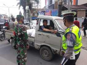 TNI - Polri dan Satpol PP di Karo Terus Gencarkan Operasi Yustisi, Ini Sanksinya...