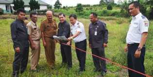 Bupati Karo Survei Lahan Gedung Uji KIR di Bandar Tongging