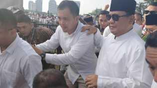 Prabowo Subianto: Saya Tak Boleh Kampanye di Reuni 212