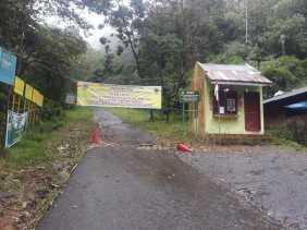 Ada Penampakan Harimau, Kawasan  Objek Wisata Gunung Sibayak Masih Ditutup