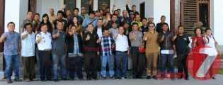 Coffee Morning  Bupati dan Wabup dengan Wartawan, Ajak Membangun Tanah Karo Simalem