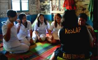 Potret Aksi Kegiatan Sosial KCBI