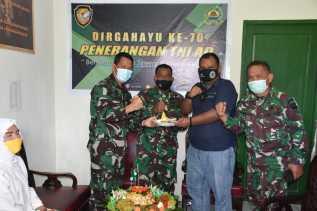 Korem 023/KS Peringati HUT ke-70  Penerangan TNI - AD