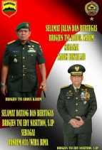 Berikut Nama Petinggi TNI AD Rencananya  Hadir Dalam Pelantikan Korem 031 Wirabima
