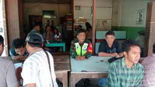 Komsos: Usai Pemilu, Babinsa Ajak Warga Binaan di Desa Juhar Tingkatkan Kamtibmas