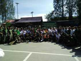 Dandim 0205/TK Pimpin Upacara Hari Sampah Nasional