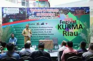 Resmi, Plt Wako Pekanbaru Buka Festival Kurma Riau 2018