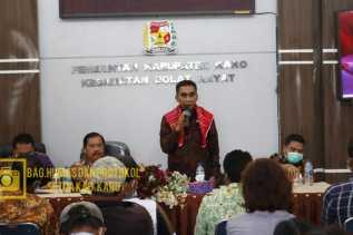 Wakil Bupati Karo: Para Kades Harus Bekerja Secara Luar Biasa Di Masa Pandemi Covid-19