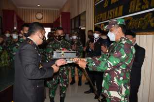 Hut Bhayangkara,Danrem 023/KS : Semoga Sinergitas TNI-Polri Semakin Kuat