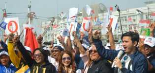 Relawan Targetkan Jokowi-Ma'ruf Menang 100 persen di Taiwan