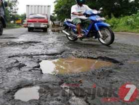 Dituding Picu Macet: Potret Jalan Nasional di Sibolangit - Pancur Batu Rusak dan Berlubang