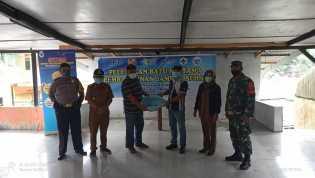PT. Tirta Sibayakindo Letakkan Batu Pertama Pembangunan Jamban Sehat di Desa Semangat Gunung
